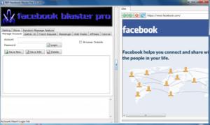 Facebook Blaster Pro
