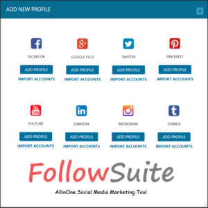Follow Suite All in one Social Media Marketing Software