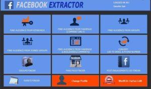 Facebook Data Extractor