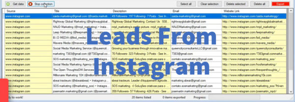 Leads From Instagram