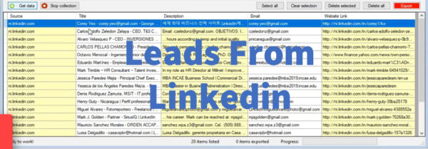 Leads From Linkedin